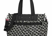 Sac à langer Cara Wave black/cream Babymel