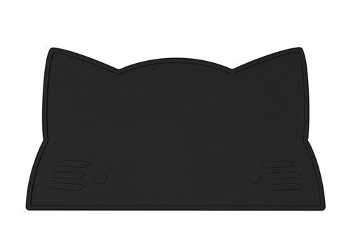 We might be tiny Grand set de table en silicone Chat Noir pur