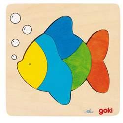 Puzzle en bois poisson Goki