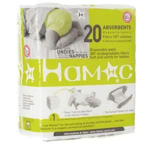 Pack de 30 inserts jetables pour couche Hamac