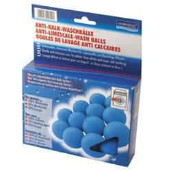 Balles de lavage anti-calcaire par 12