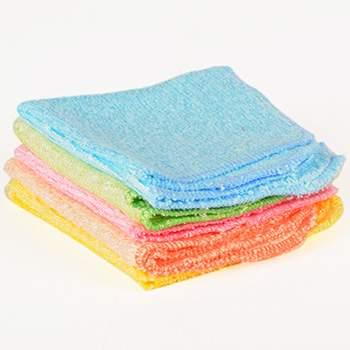 Lot de 5 débarbouillettes lavables Les tendances d'Emma