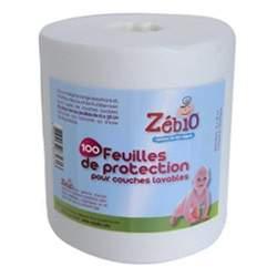 Feuilles de protection épaisses Zébio (100pcs)