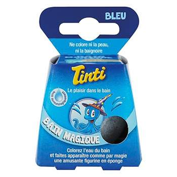 Bain magique bleu Tinti