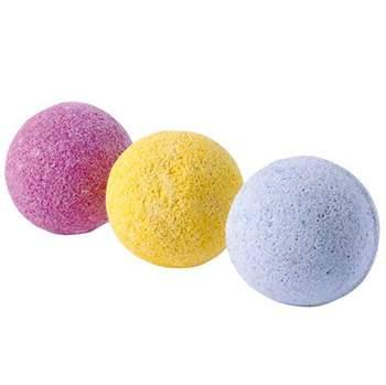 3 balles bain magique Tinti