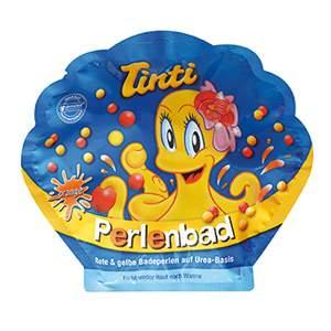 Perles de bain orange Tinti