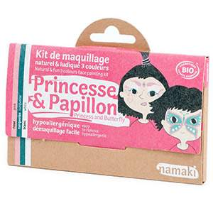 Kit 3 couleurs Princesse & Papillon Namaki