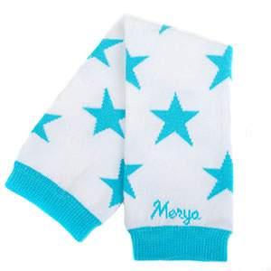 Jambières Merya stars blanc/turquoise
