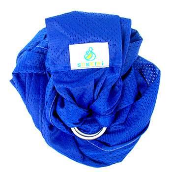 Porte-bébé Sling Sukkiri Bleu électrique