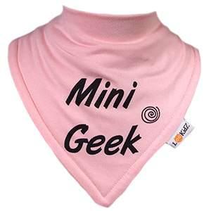 Bavoir bandana Lookidz Mini geek rose