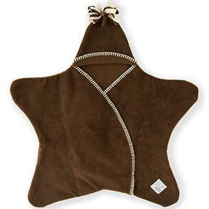 Couverture Star baby Tuppence and Crumble Chocolat