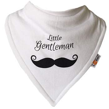 Bavoir bandana Lookidz Little Gentleman