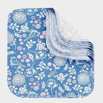 Pack 12 lingettes lavables Imse Vimse - Garden