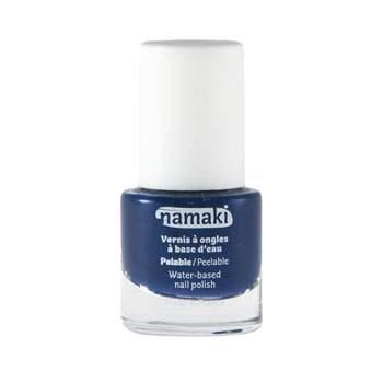 Vernis à ongles pelable à base d'eau Bleu Nuit Namaki