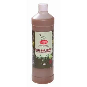 Savon noir liquide à l'huile d'olive biologique 1L Droguerie Ecologique