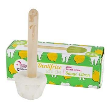 Dentifrice solide à la Sauge-citron Lamazuna