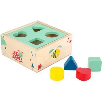 """Cube à formes """"Move it!"""" Legler"""