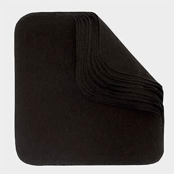 Pack 12 lingettes lavables Imse Vimse - Black