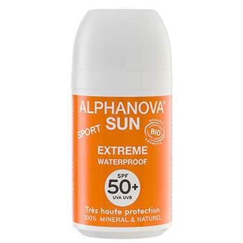 Roll On Solaire Bio, SPF 50+ Alphanova