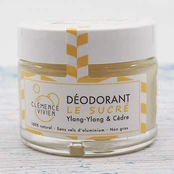 Déodorant naturel Le Sucré Clémence et Vivien