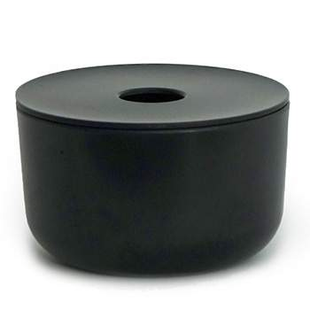 Petite Boîte de Stockage Bambou Black BIOBU