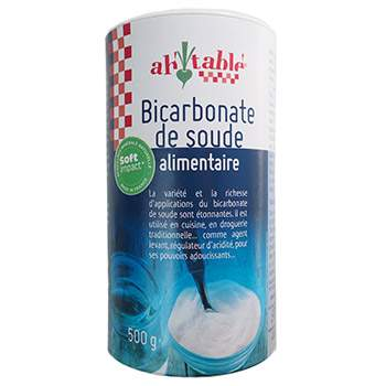 Bicarbonate de soude Alimentaire Ah Table !