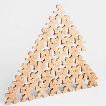Jeu libre en bois Flockmen Full  Flock - 32 pièces