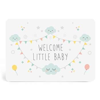 Carte Welcome Little Baby Zü