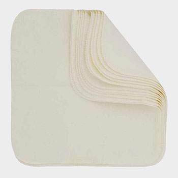 Pack 12 lingettes lavables Imse Vimse - Naturel