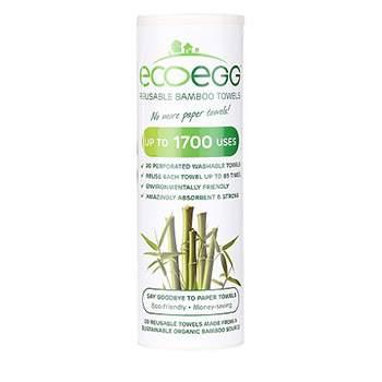 Essuie-tout réutilisable en bambou EcoEgg