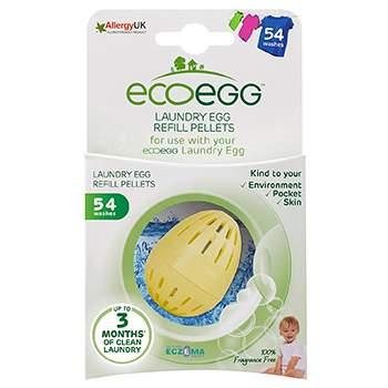 Recharge Œuf de lavage EcoEgg 54 lavages - sans parfum