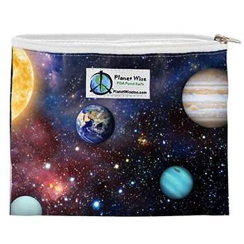 Sac à sandwiches zippé réutilisable Planet Wise - Far Far Away