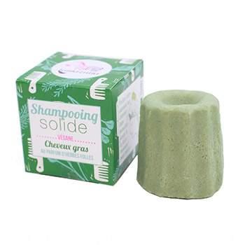 Shampooing solide pour cheveux gras Lamazuna - Herbes folles