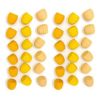 Mandala petites ruches jaunes Grapat