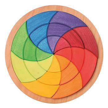 Grand puzzle cercle de Goethe Grimm's