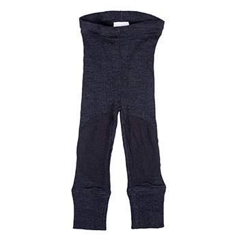 Leggings en laine avec protège-genoux Manymonths Foggy Black