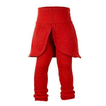 Leggins en laine Butterfly Manymonths Rooibos Red