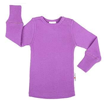T-Shirt évolutif en laine Manymonths Lavender Crystal