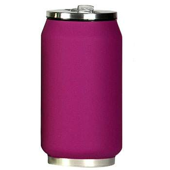 Canette isotherme Inox 280 ml Yoko Design - Soft Touch Violet