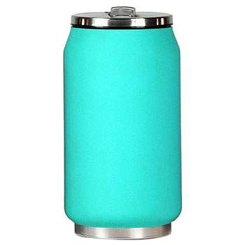 Canette isotherme Inox 280 ml Yoko Design - Soft Touch Turquoise