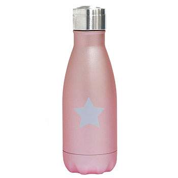 Bouteille Isotherme Inox 260ml Yoko Design - Star Rose