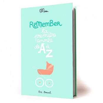 Ta première année de A à Z - cahier de naissance Minus éditions