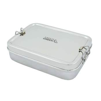 Large lunch box en Inox A slice of Green