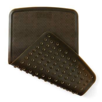Tapis de bain en caoutchouc Hévéa - Charcoal
