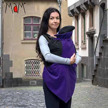 Couverture de portage MAM Exclusive Vogue Flex Dark Iris
