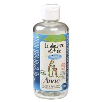 La glycérine végétale bio Anaé