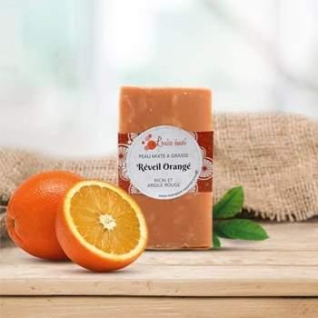 Savon à froid Louise Emoi - Reveil Orange