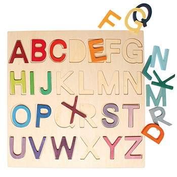 Puzzle alphabet en bois grimm's
