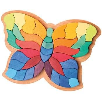 Puzzle en bois Papillon Grimm's
