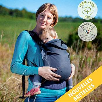 Porte bébé préformé NEO Néobulle - Galet